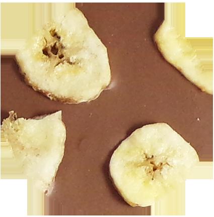 V l banane rond